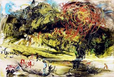 76 Lukisan Pemandangan Karya Affandi Gratis Terbaru